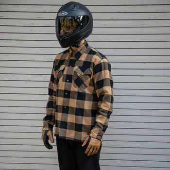 Cortech The Bender Protective Riding Flannel - Brown