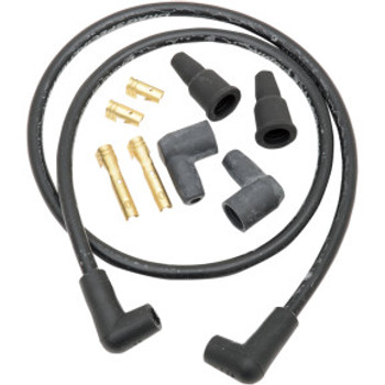 Drag Specialties - 8.8MM Spark Plug Wire Set Universal fit W/ 180° and 90° Boots
