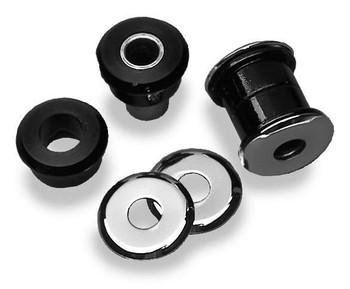 Arlen Ness - Polyurethane Handlebar Damper Kit - fits '73-'13 Sottail, FX, FXR, Dyna, XL Harley Davidson