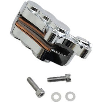 "Arlen Ness - Chrome Six-Piston Differential Bore Front Brake Caliper for 11.8"" Rotors (Right Side)"