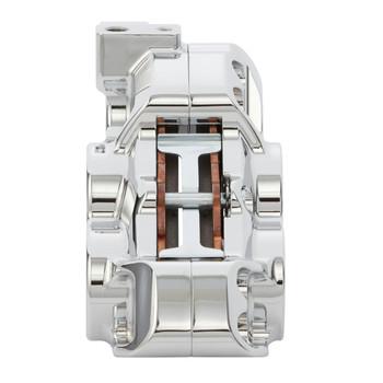 """Arlen Ness - Chrome Four-Piston Front Brake Caliper for 11.8"""" Rotors ( Choose Left or Right Side, See Desc.)"""