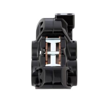 "Arlen Ness - Black Four-Piston Rear Brake Caliper for 11.8"" Rotors fits '08-'17 Dyna Models"