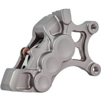 "Arlen Ness - Titanium Six-Piston Differential Bore Front Brake Caliper for 14"" Rotors (Right Side)"