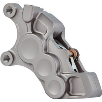 "Arlen Ness - Titanium Six-Piston Differential Bore Front Brake Caliper for 11.8"" Rotors (Right Side)"