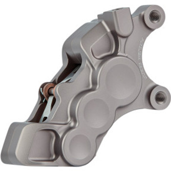 "Arlen Ness - Titanium Six-Piston Differential Bore Front Brake Caliper for 11.8"" Rotors (Left Side)"