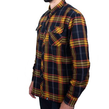 Deadbeat Customs - Classic Flannel Shirt - Harvest
