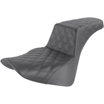 Saddlemen - Full Lattice Stitch Step-Up Seat fits '18-'20 FLSL/ FLDE/ FLHC/S M8 Softail Models