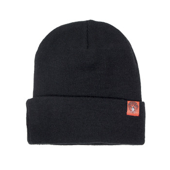 Deadbeat Customs Skull Beanie - Black