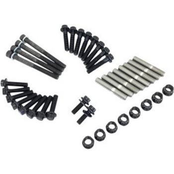 Feuling - 12-Point Black Oxide Internal Engine Fastener Kit for '17-'20 M8 Softail