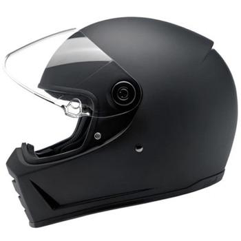 Biltwell Lane Splitter Full Face DOT & ECE Helmet - Flat Black
