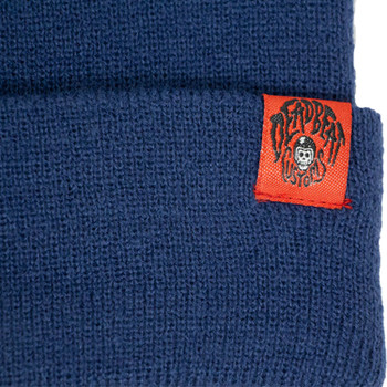 Deadbeat Customs Skull Beanie - Blue