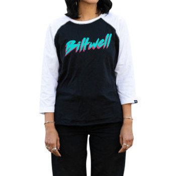 Biltwell - Women's 1985 Raglan  - Black/White