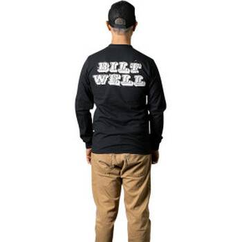 Biltwell - Smudge Long-Sleeve T-Shirt - Black