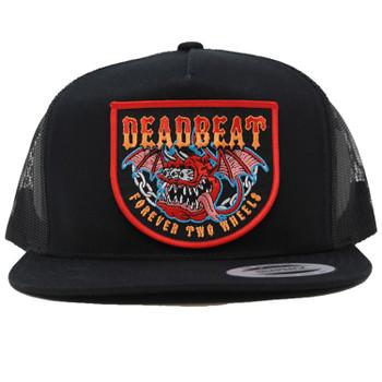 Deadbeat Customs - Devil Snapback Hat - Black