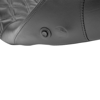 Danny Gray - Touring IST Diamond Stitch Longhaul Two-Up XL Air Seat fits '08-'18 Touring Models