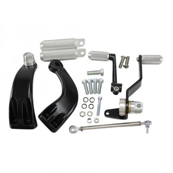 TC Bros Choppers - Sportster Mid Controls Kit fits '04-'13 Sportster Models
