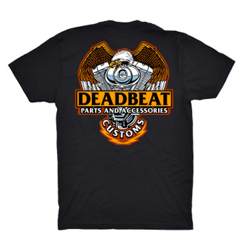 Deadbeat Customs Big Twins T-Shirt