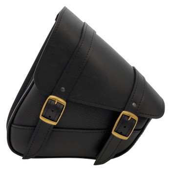 Willie and Max - Triangulated Brass Monkey Swingarm Bag - Black