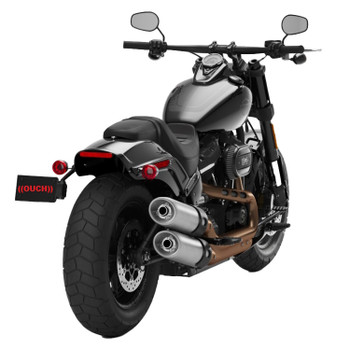Paul Yaffe's Bagger Nation - Fat Bob Light and License Kit W/ Bullets fits '18 & Up M8 Softail Models