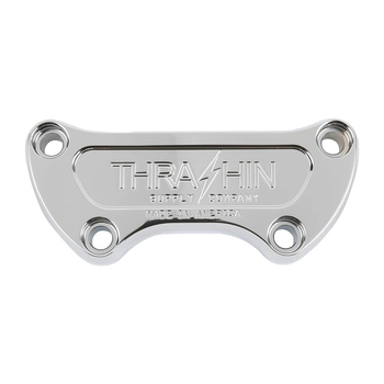 Thrashin Supply - Handlebar Top Clamps fits most '99-'20 Models (Polished)