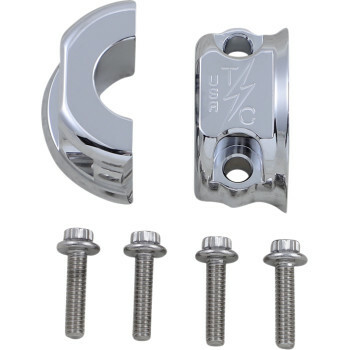 Thrashin Supply - Chrome Clutch/Brake Perch Clamps
