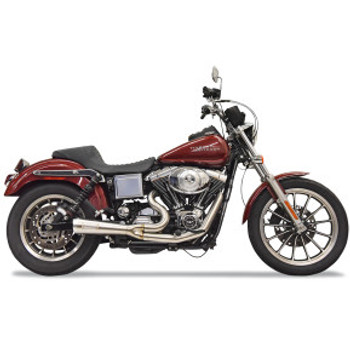 Bassani - Ripper 2-into-1 Exhaust System fits '93-'05 FXDL - Stainless Steel