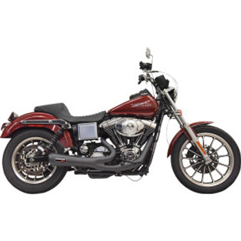 Bassani - Ripper 2-into-1 Exhaust System fits '93-'05 Dyna - Black