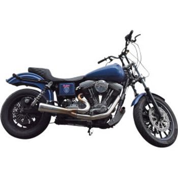 Bassani - Ripper 2-into-1 Exhaust System fits '93-'05 Dyna  - Chrome
