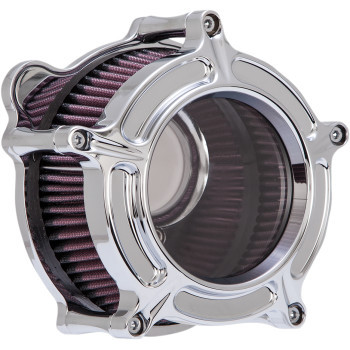 Roland Sands Design - Chrome Clarion Air Cleaner fits '08-'17 Twin Cam - Electronic Throttle