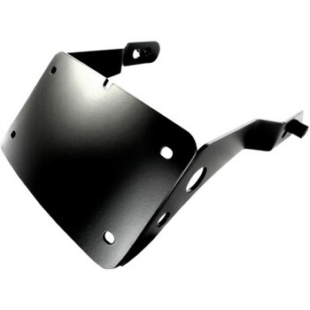 Cycle Visions Curved License Plate Mount - fits '13-'17 FXDB/FXDLS
