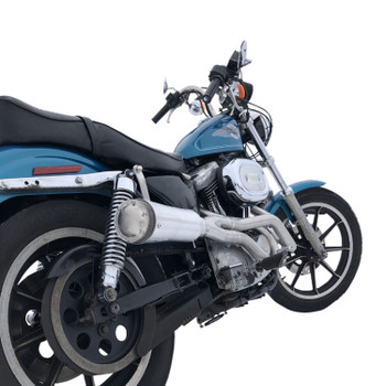 """Supertrapp - 4"""" 2-Into-1 Competition Exhaust System fits '86-'99 Sportster Models"""