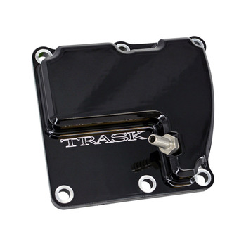 Trask - CheckM8™ Vented Trans Top Cover fits '17 & Up Touring and M8 Softail Models