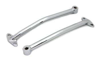V-Twin Rear Fender Brace Set for Rigid - Chrome