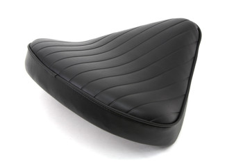 V-Twin Wide Tuck n' Roll Solo Seat - Thick