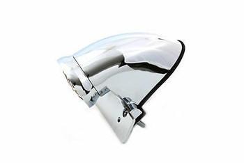 V-Twin Stop Fender Mount Tail Light - Chrome Standard Bulb
