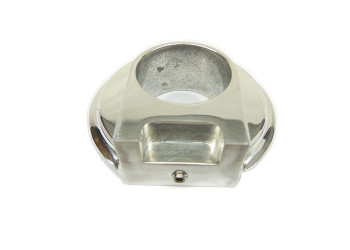 LC Fabrications - Harley Davidson Clutch Switch Housing Delete - Polished