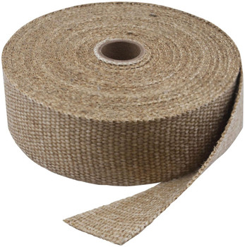 "Twin Power - 2"" x 50' Exhaust Header Wrap - Natural"