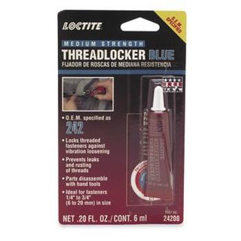 Loctite - Threadlocker 242 Blue Medium Strength
