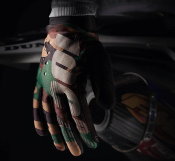 100% Brisker Cold Weather Gloves - Camo