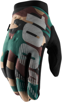 100% Brisker Cold Weather Gloves - Camo