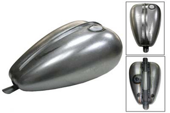 V-Twin Axed Gas Tank 3.3 Gallon - Screw in Style Bung