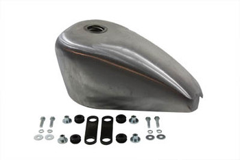V-Twin Sportster Style Tank 2.4 Gallon Gas - Frisco Strap Mounts
