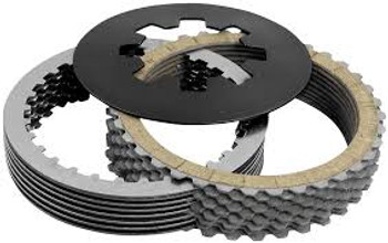 Belt Drives LTD. Kevlar Clutch Kit fits: L'84 - '89 Big Twin