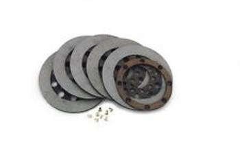 Twin Power Replacement Clutch Kit fits: '68 - 'E84 FLH, '71-'E84 FX