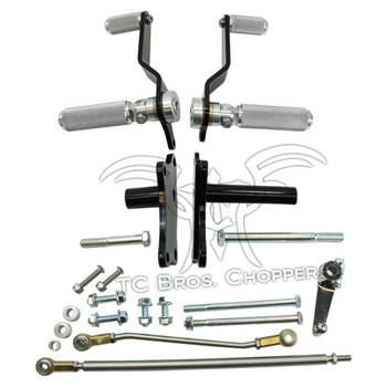 TC Bros Choppers  - Sportster Forward Controls Kit for '91-'03   5-Speed