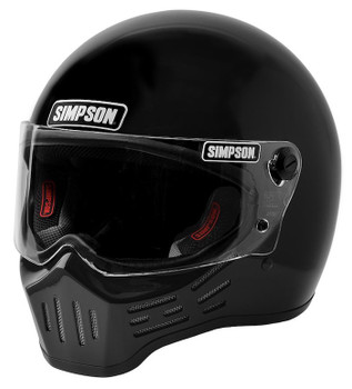 Simpson Helmets - M30 DOT Approved Helmet - Gloss Black