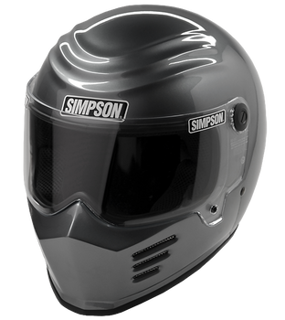Simpson Helmets - Outlaw Bandit DOT Approved Helmet - Gunmetal