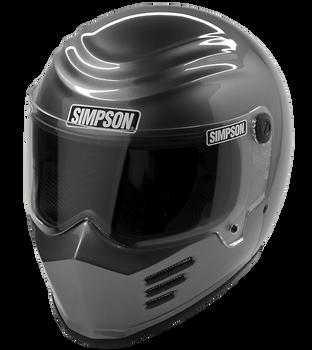 Simpson Helmets - Outlaw Bandit DOT Approved Helmet - Gunmetal