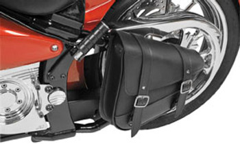 Willie and Max - Revolution Universal Swingarm Saddlebags - Left Side