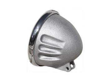 "EMD - Vitamin A Headlight Shell for 5-3/4"" Headlamps - Raw Cast Aluminum"